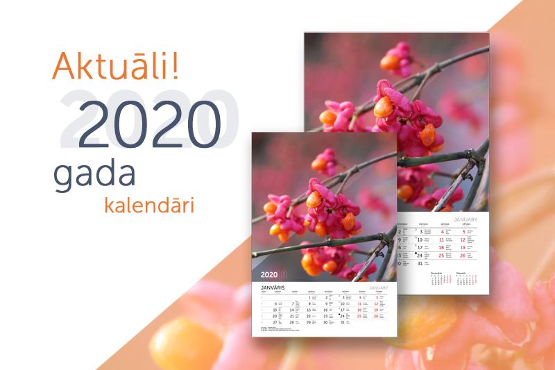 Kalendāri 2020