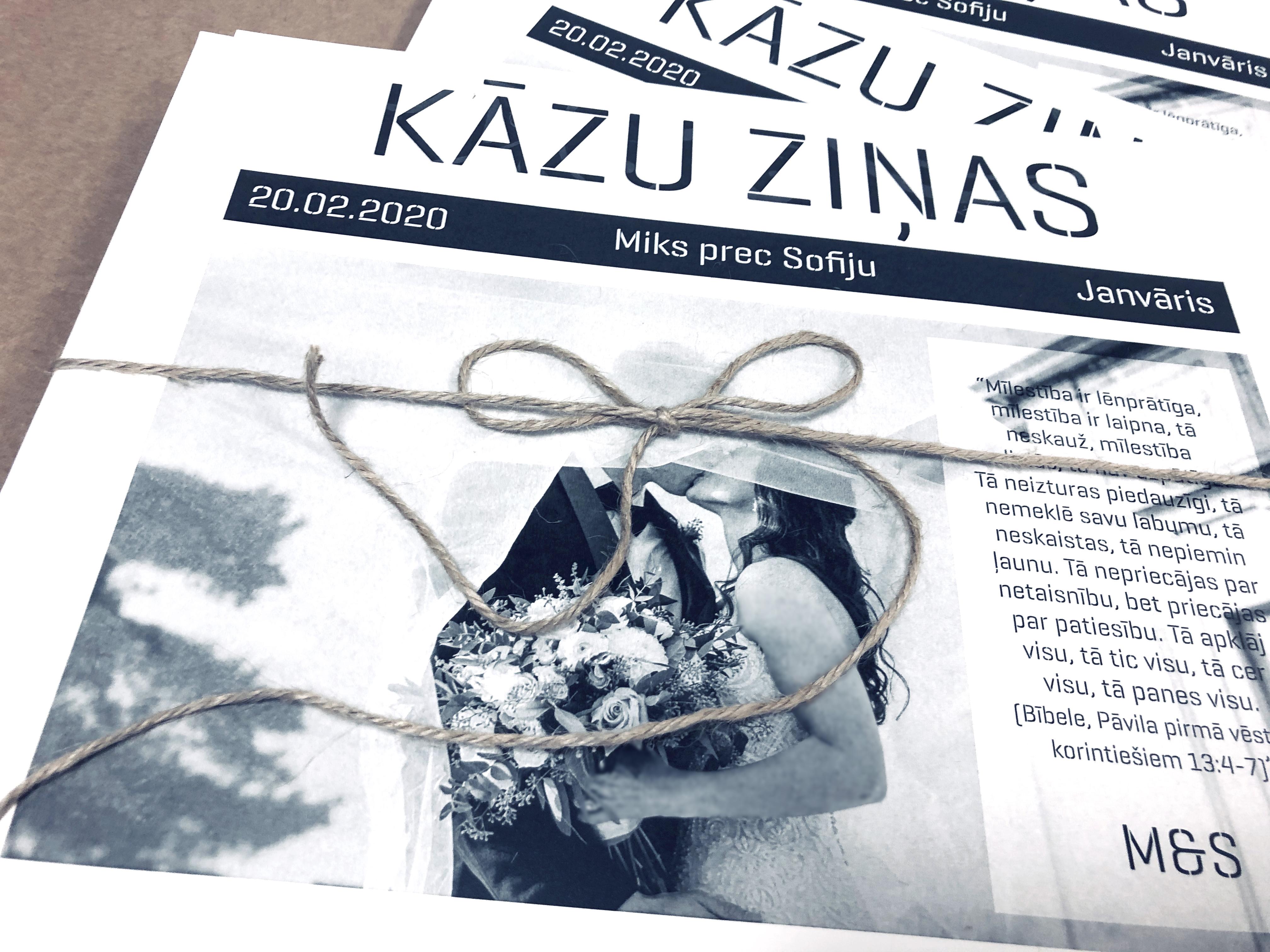 Kāzu avīzes